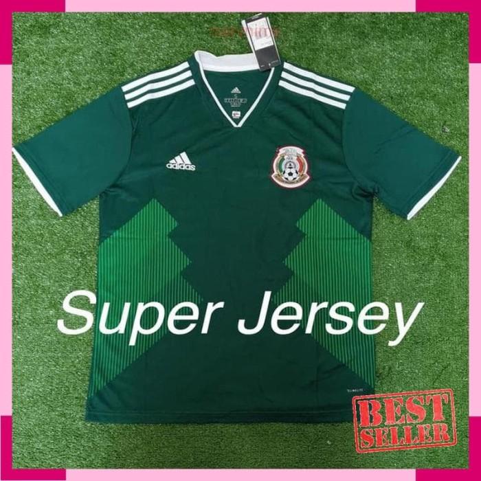 8b7c564f18e Jual Jersey Grade Ori Meksiko Home Mexico Home World Cup 2018 ...
