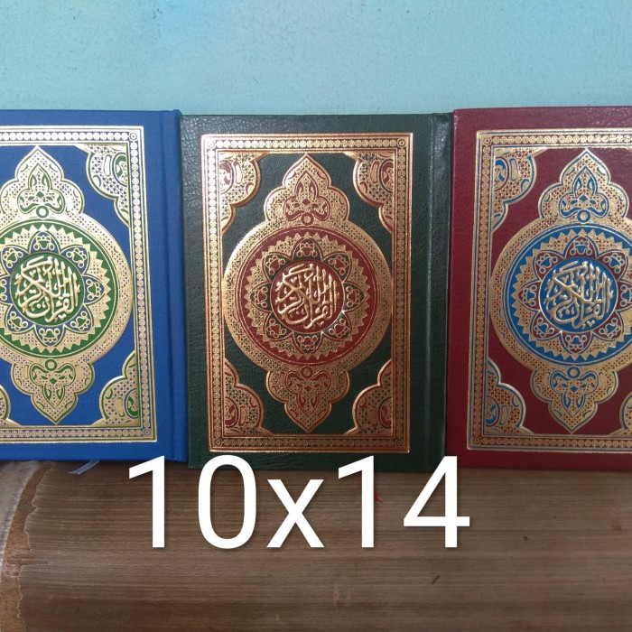 harga Al quran mushaf usmani edisi madinah 10x14 Tokopedia.com