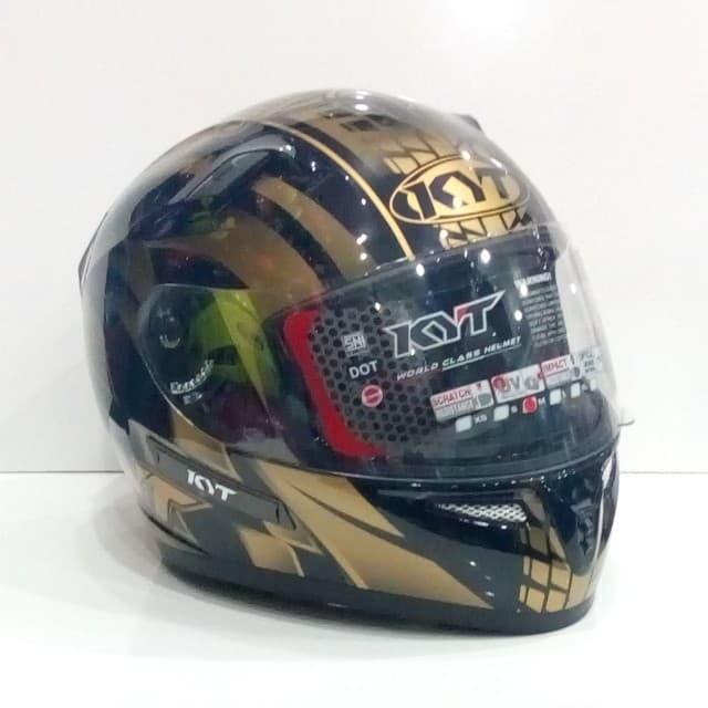 HELM KYT K2 RIDER WORLD GP READY GOLD