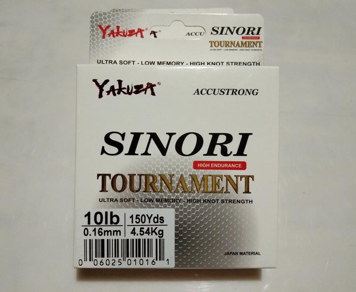 Yakuza Sinori Tournament 15lb Senar Pancing Kuat dan Langsung Tenggelam Hijau. Source · Senar pancing