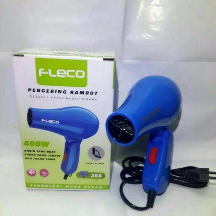 Fleco Hair Dryer Pengering Rambut 258 Biru - Daftar Harga Terlengkap ... 40de5bd8f7
