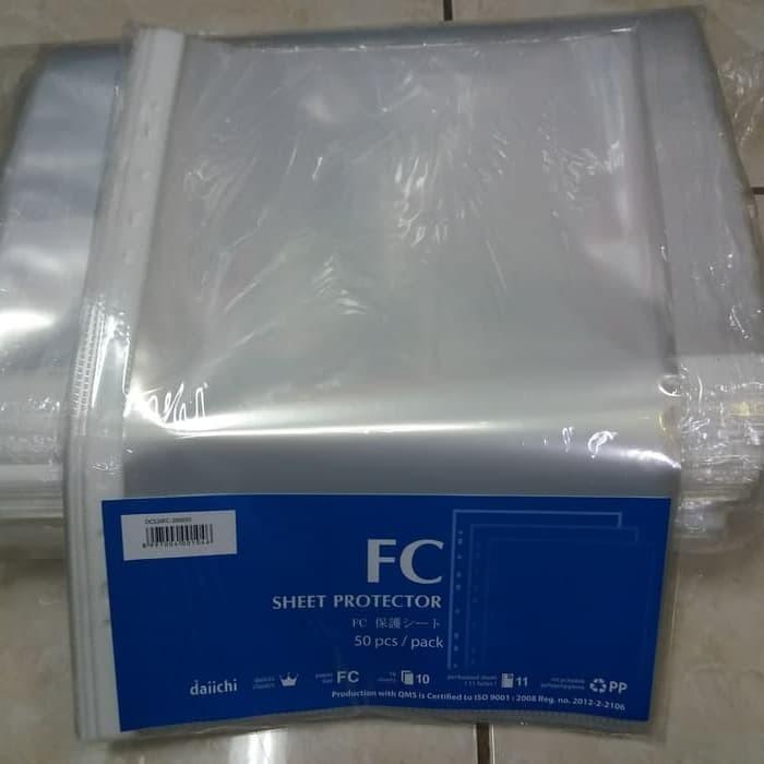 Jual PP Pocket Folio Daiichi 50 Lembar / Sheet Protector