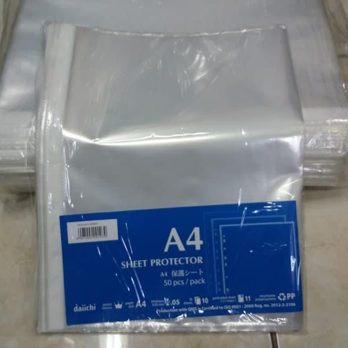 Jual PP Pocket A4 Daiichi / Sheet Protector A4 Daichi