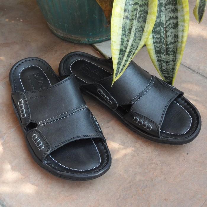 Sandal Pria Sin Lie Seng C317 - Black, 39