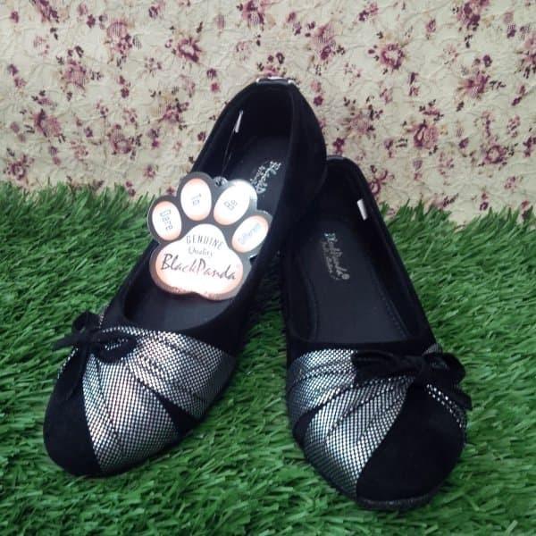 Jual Sepatu Blackpanda Flat Shoes Motif Pita Kota Bogor Ahsanu
