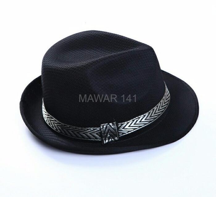 Topi Jazz Anti Kusut Pria Wanita Tompi Fashion Fedora Panama Caplin ... 3b3a0a6b2f