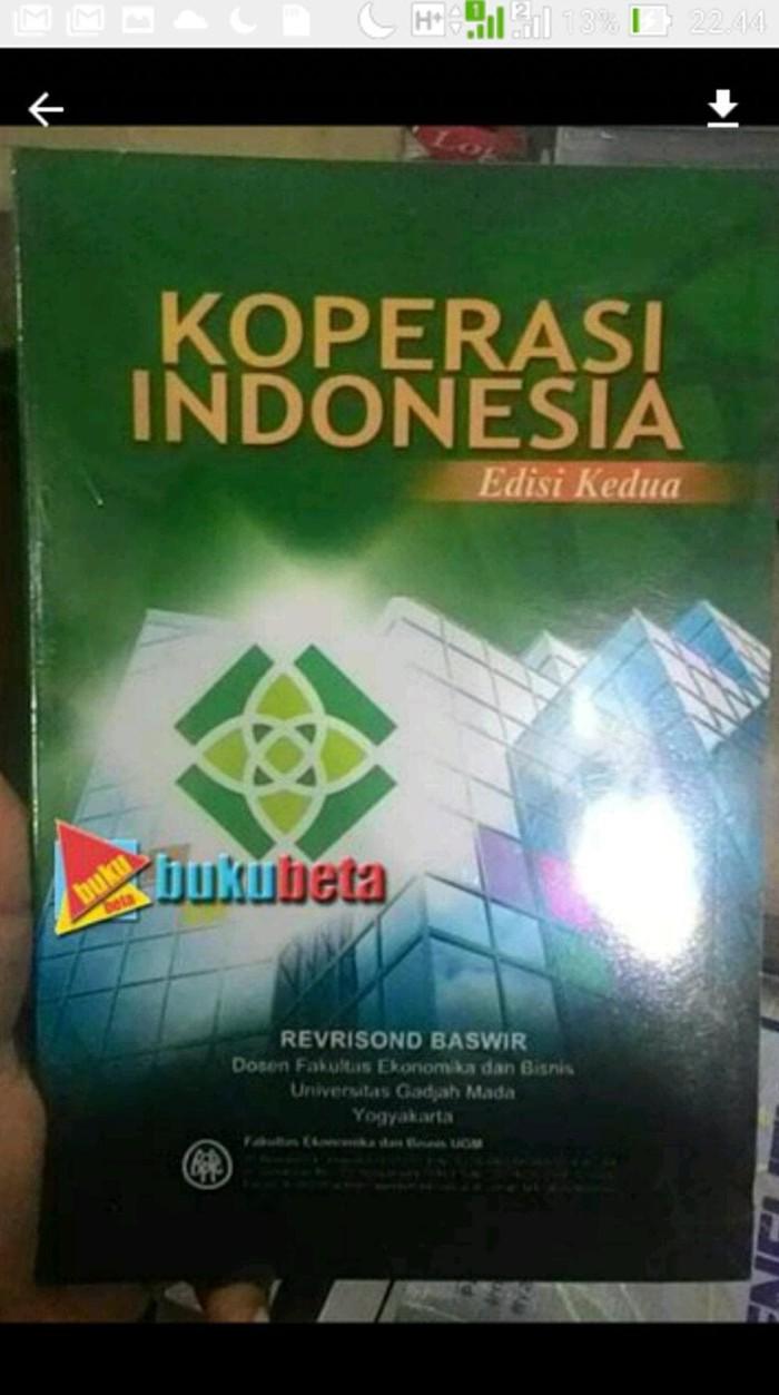 Jual Koperasi Indonesia Edisi 2 Revrisond Baswir Kota Yogyakarta Rifanda Store