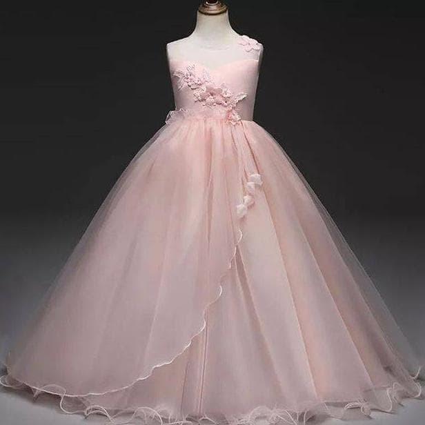 GA2571 RIANA DRESS / dress gaun pesta ulang tahun anak remaja pagar