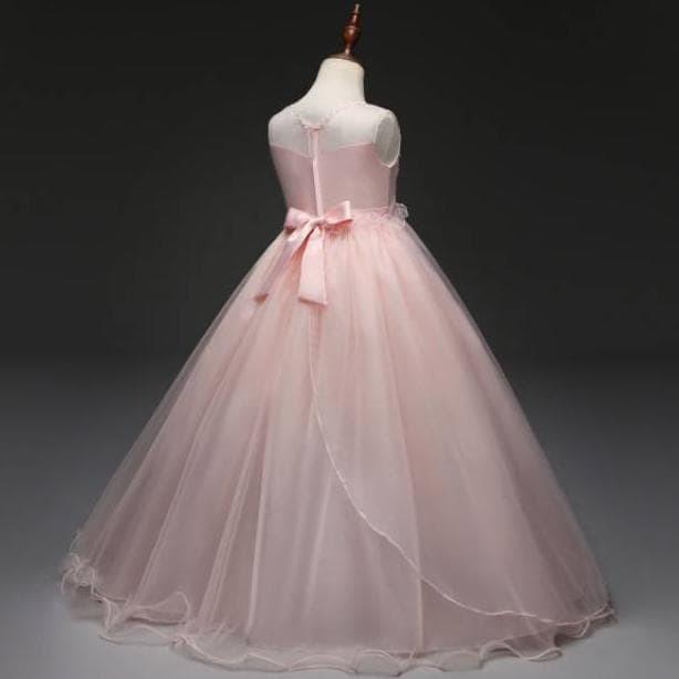 Jual Ga2571 Riana Dress Dress Gaun Pesta Ulang Tahun Anak Remaja