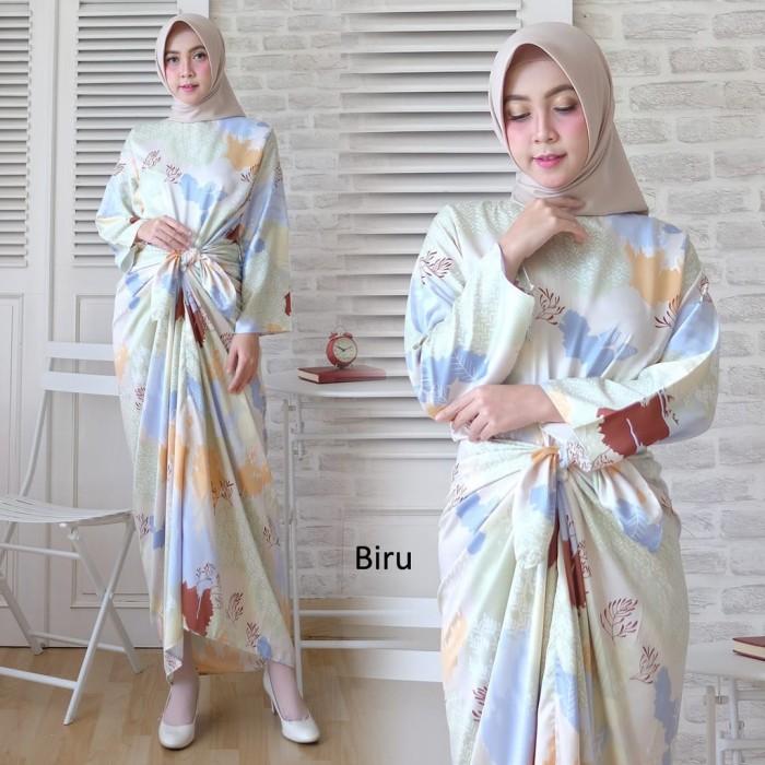 harga Baju busana muslim wanita gamis syari pesta kaftan yurika maxm  terbaru Tokopedia.com 7d42a12b5f