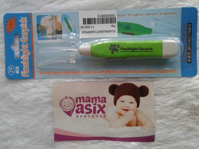 Foto Produk Flashlight Earpick - Pembersih Teliniga - Earpick Flashlight dari Mama Asix Baby Shop
