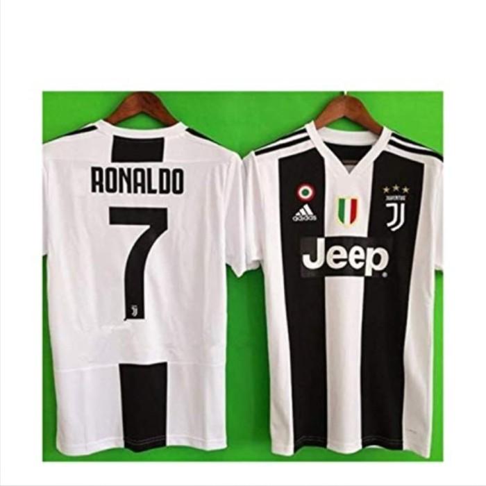 hot sale online e3ce0 53490 Jual JonSnow Juventus Ronaldo # 7 Soccer Jersey 2018 2019 Home Men's Jersey  - Kota Surabaya - goalmania | Tokopedia