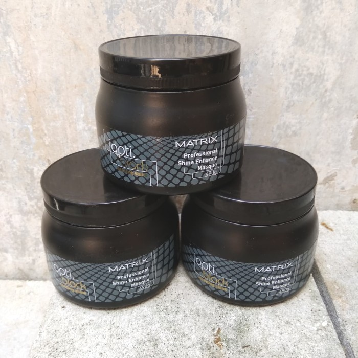 Matrix opti black dazzling shine 490gr shine enhance masque ...
