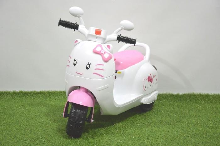 harga Motor mainan aki junior scooter kitty (tr-17588) Tokopedia.com