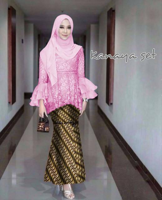 Jual Atasan Wanita Muslim Kebaya Wisuda Modern Kutubaru Kannaya Dki Jakarta Dzikrimoeslimcollection Tokopedia