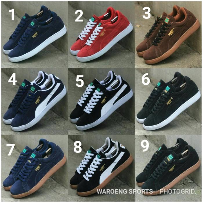 Jual Sepatu Puma Suede Man Men Cowok Cowo Sneakers Classic Casual ... 582b9e258b