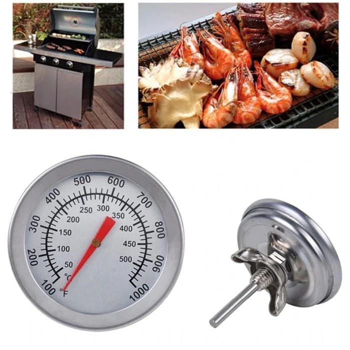 Foto Produk 100-1000F 50-500C Barbecue Stove Thermometer Oven Bimetallic BBQ Grill dari CICO Store