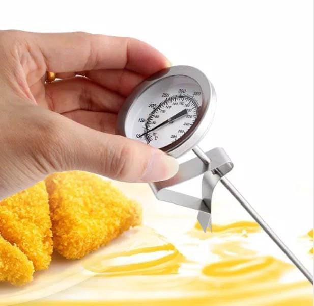 harga Frying thermometer suhu minyak air stainless analog termometer 40 cm Tokopedia.com