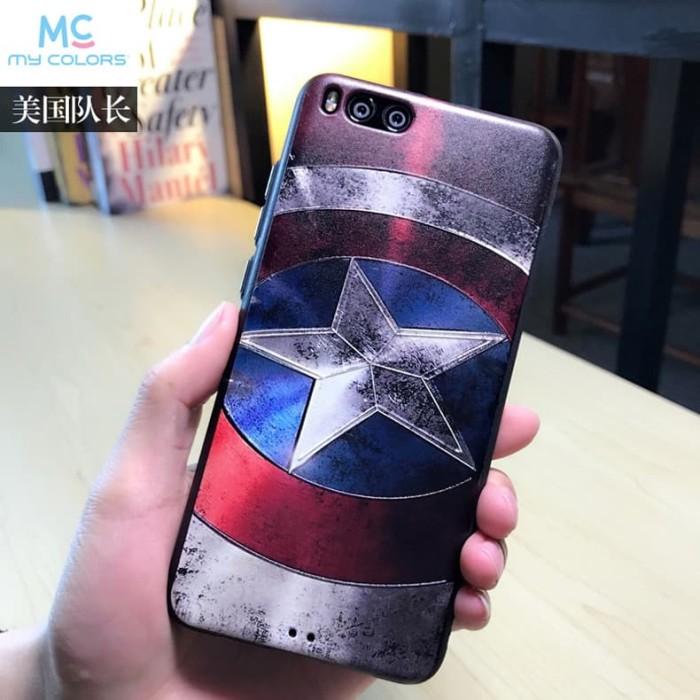 harga Casing xiaomi mi note 3/samsung galaxy s9 s9 plus soft case 3d marvel Tokopedia.com