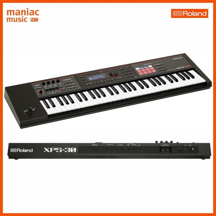 Jual Roland XPS-30 (Expandable Synthesizer, USB MIDI DAW, Keyboard, Vocal)  - Kota Bandung - Maniac Music | Tokopedia