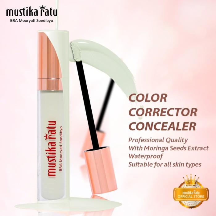 harga Mustika ratu warna hijau kosmetik wajah corrector concealer anti air Tokopedia.com