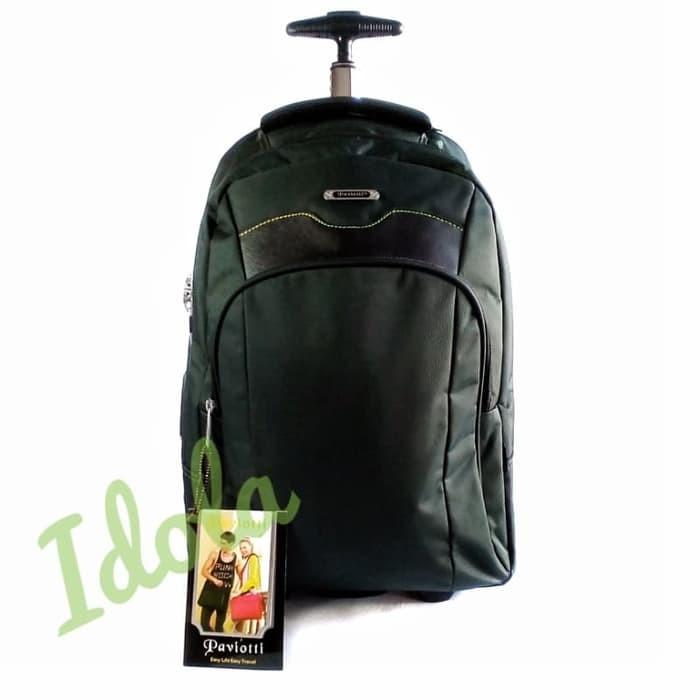 Promo Tas Ransel Koper Travel Backpack Trolly Paviotti TERBARU