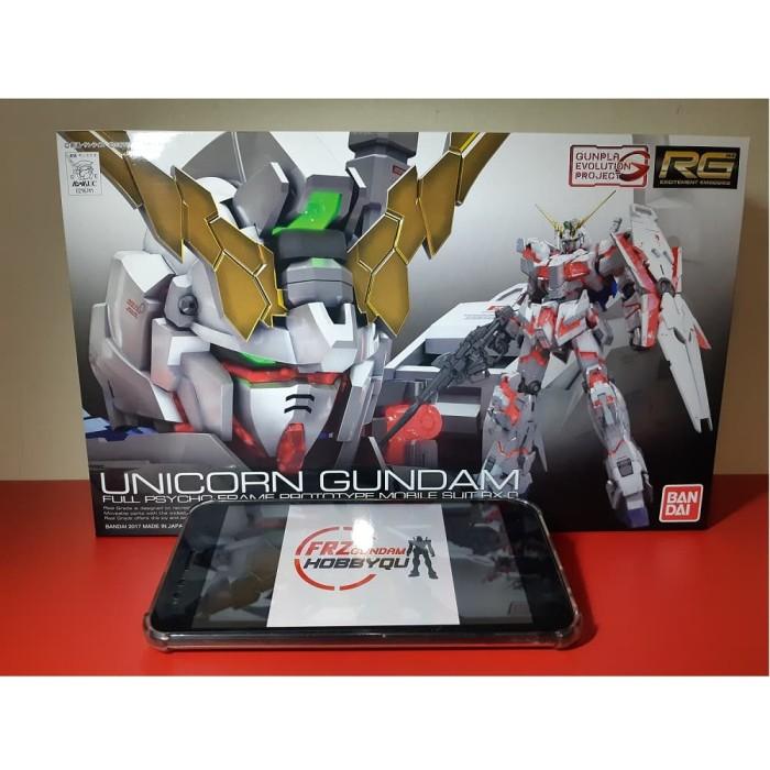 Jual Rg Unicorn Gundam Murah Original Bandai Asli Jakarta Barat Fransiska Stores Tokopedia