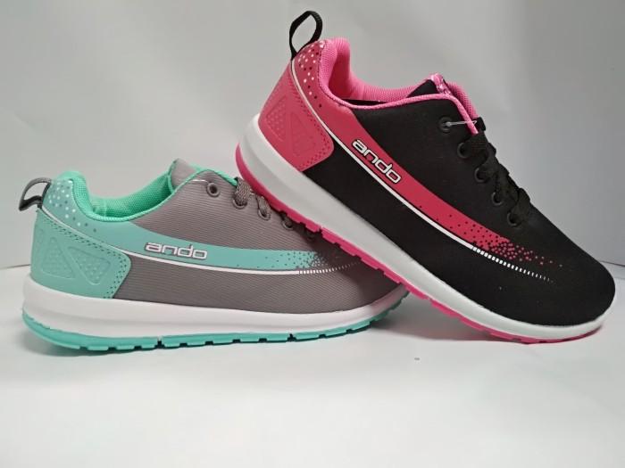 harga Sepatu sekolah anak perempuan ando adeline 32-35 sepatu sd kets Tokopedia.com