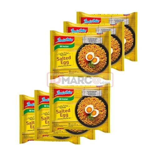 Indomie Premium Salted Egg Bundle 6 Pcs - Blanja.com