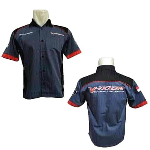 harga Kemeja vixion hem rider yamaha vixion bonus stiker Tokopedia.com