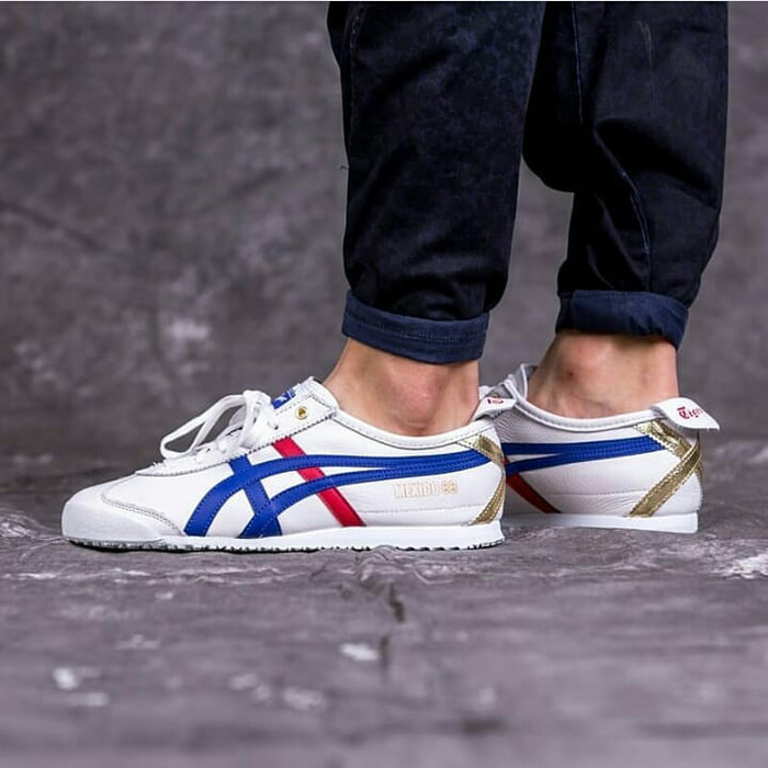 purchase cheap 4d84b ddfae Onitsuka tiger mexico 66 white blue red gold - ,