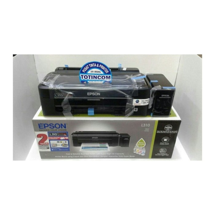 harga Pinter epson l 310 ink jet printer Tokopedia.com