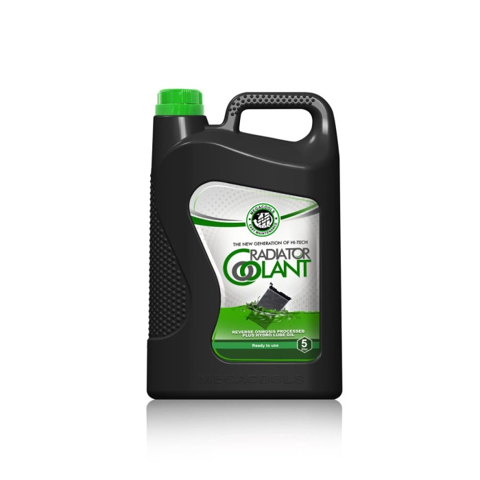 MEGACOOLS RADIATOR COOLANT GALON - GREEN