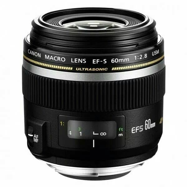Foto Produk Lensa canon EFS 60mm f/2.8 usm macro - Hitam dari X ONE CAM