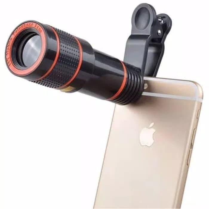harga Lensa telezoom 12x tele optical zoom jepit clip lensa hp smartphone Tokopedia.com