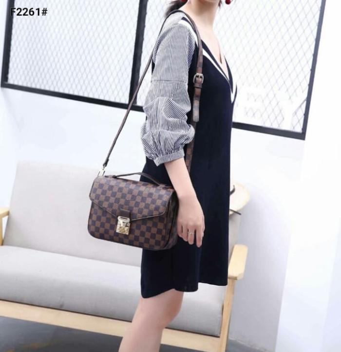 Jual Tas Wanita Lv Louis Vuitton Pochette Metis Bag  F2261 - Damier ... 0972d7b4ef387