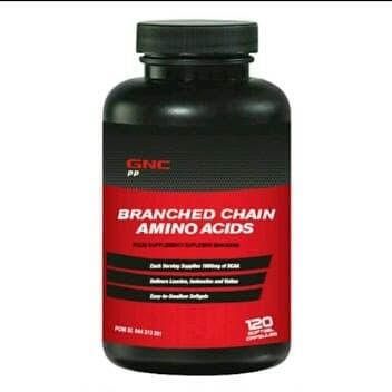 GNC Branched Chain Amino Acids - 120 kapsul lunak (677267)