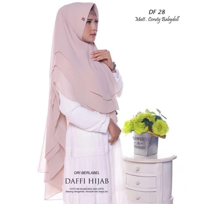 Jual Beli Jilbab Daffi Kode Df 28 2 Harga Rp 119 600