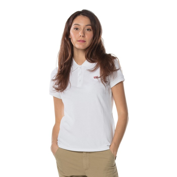 Levi's slim polo shirt - white 52599-0000 size-m