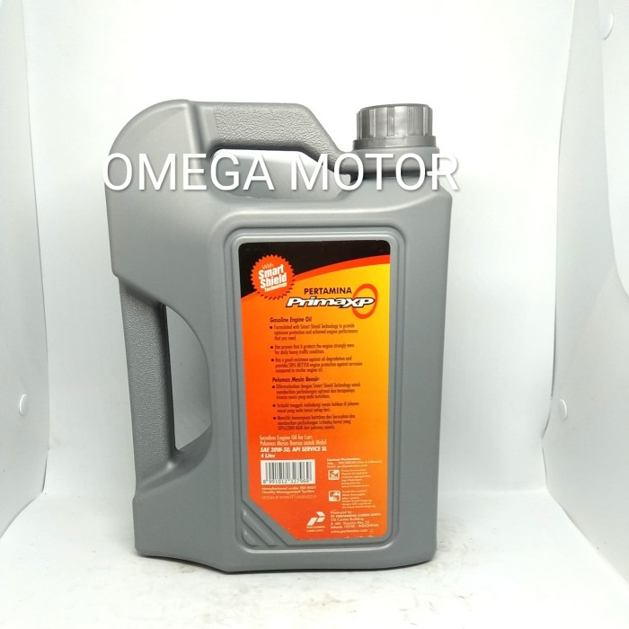 Prima XP pertamina 20W-50 Oli Mobil Bensin 4 Liter Original