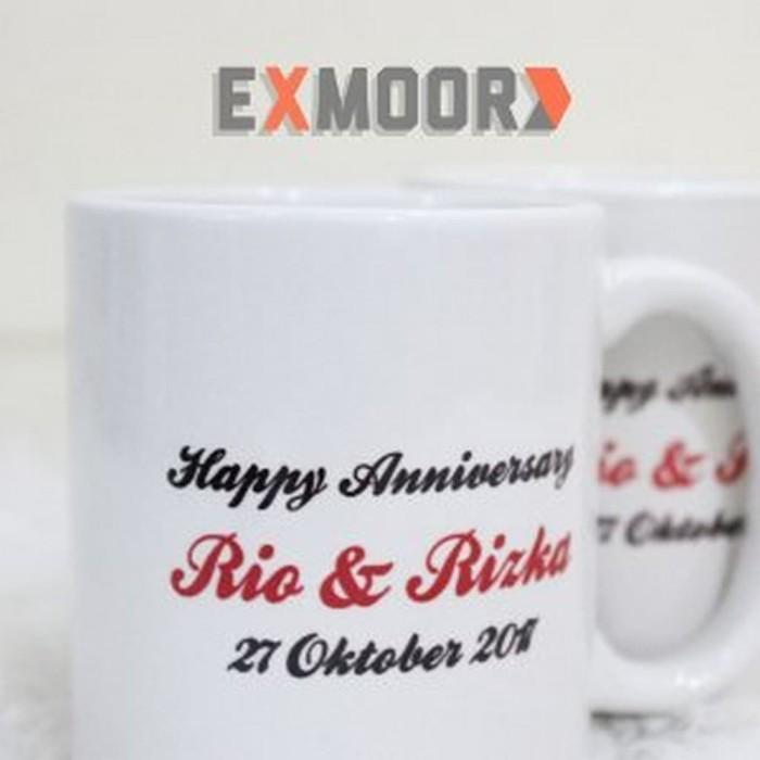 Sale Kado Anniversary Mug Couple Say Your Love aksesoris perkakas