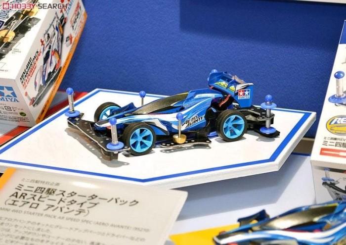 Tamiya Mini 4WD Starter Pack AR Speed Type Aero Avante 95210