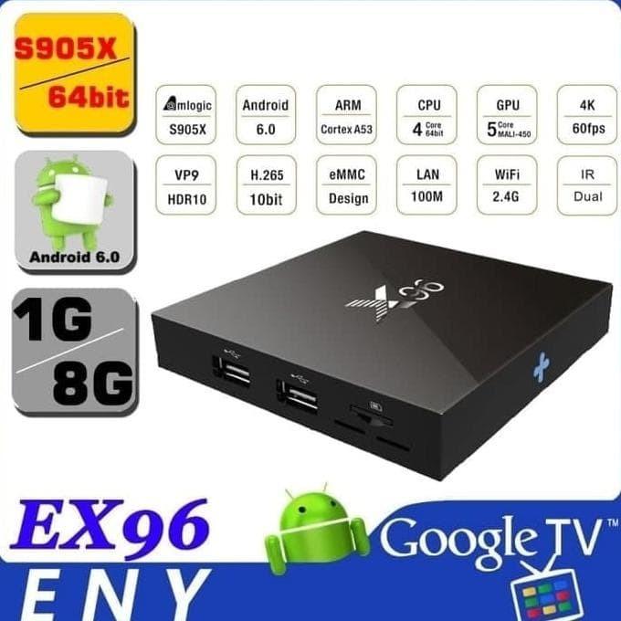 Jual X96 Mini Android Tv Box 7 1 2 Amlogic S905W 4K - Ir Receiver 1Gb/8Gb -  DKI Jakarta - Toko Merahmuda | Tokopedia