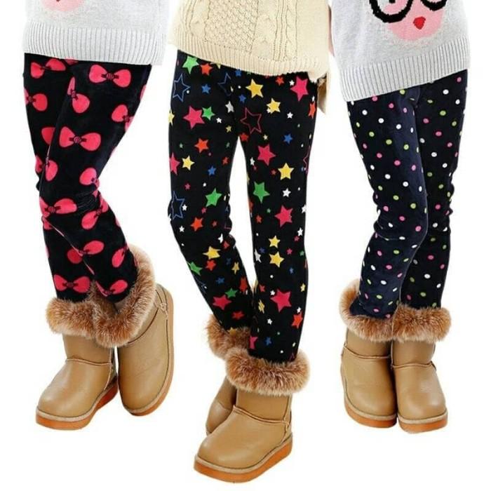 712c82d7095677 Jual Legging musim dingin anak Import Legging winter anak lapis wool ...