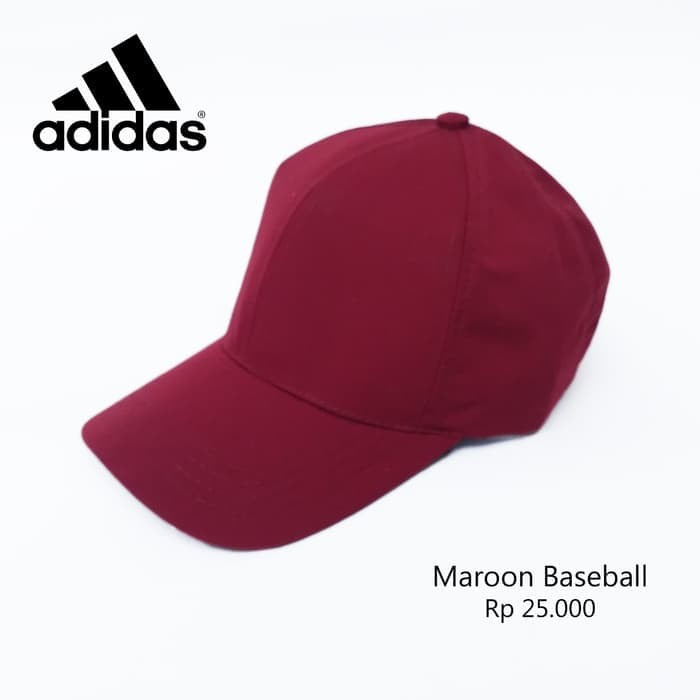 Jual TOPI BASEBALL POLOS HITAM NAVY ABU MERAH MAROON POLOS ALL SIZE ... 40be9687ba