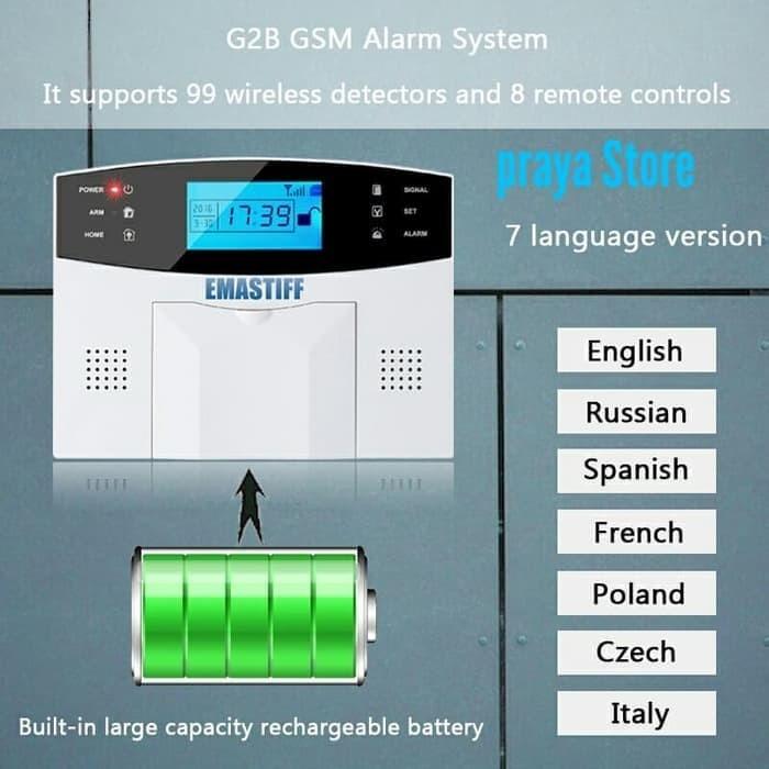 ORI SECURITY ALARM Rumah Kantor Ruko GSM system Wireless Sensor Pintu