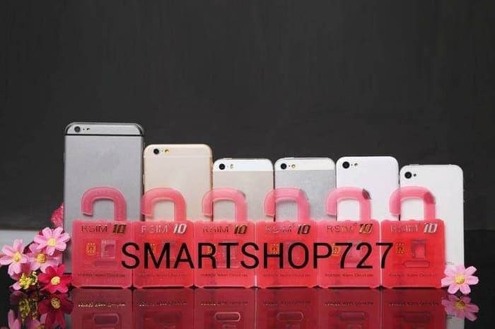Jual Rsim10 / Rsim Pro 10 / Unlock iPhone 5c, 5s, 6s, 6+ IOS 8 x x, 9 x x -  Maumurahh   Tokopedia