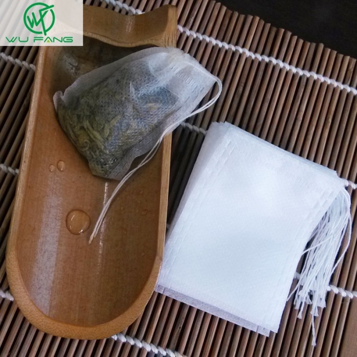 Demino 100Pcs//Lot Teabags 5 x 7CM Empty Scented Tea Bag,Tea Scented Tea Bags with String Heal Seal Filter Paper