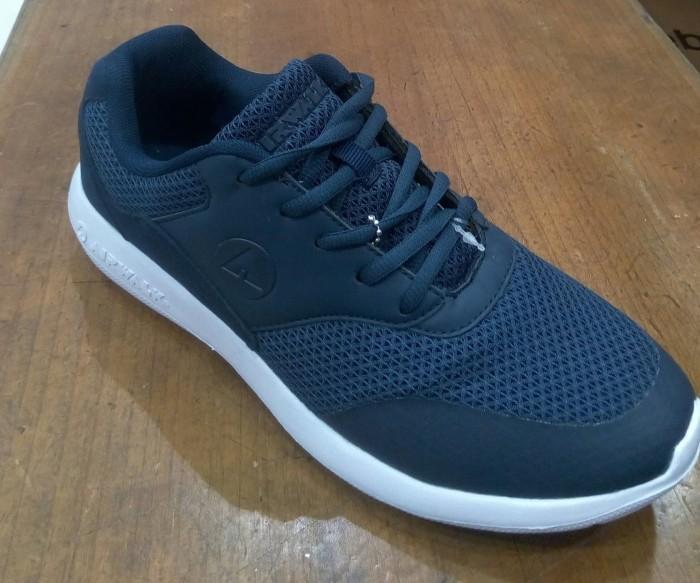 Jual Sepatu Airwalk Original Casual Sneaker Ferris Navy Kota