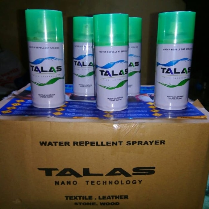 TALAS Water Repellent Spray Anti Air dan Noda